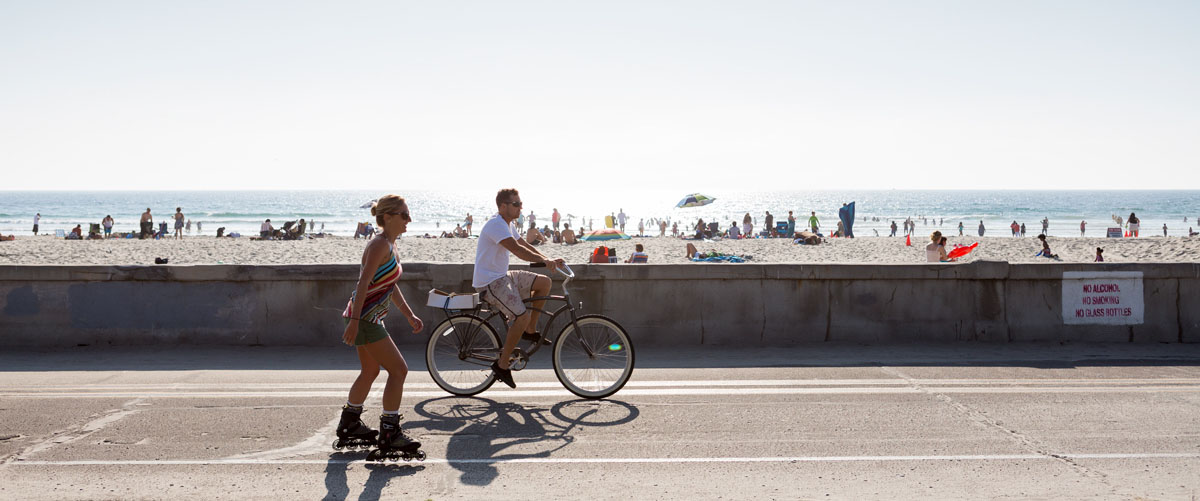 PB Boardwalk - Scenic Cycle Tours - San Diego Bike Tours