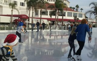 ice skating in coronado - Scenic Cycle Tours - San Diego Bike Tours