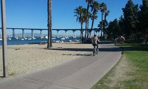 coronado bridge boardwalk - San Diego Scenic Cycle Tours
