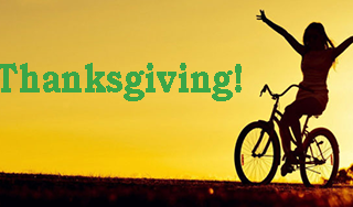 happy thanksgiving - Scenic Cycle Tours - San Diego Bike Tours