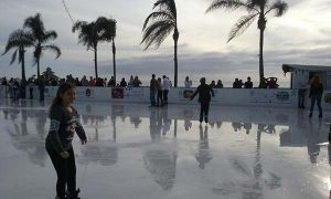 coronado Hotel del skating rink - Scenic Cycle Tours - San Diego Bike Tours