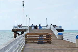 Pacific beach pier - San Diego Scenic Cycle Tours