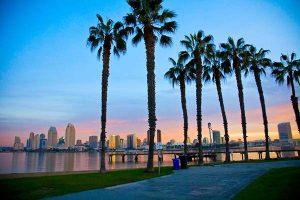 san diego coronado sunset - Scenic Cycle Tours - San Diego Bike Tours