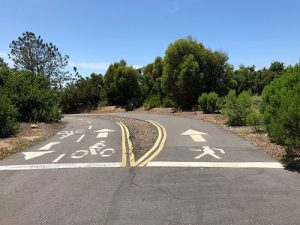 mission bay bike path signs - San Diego Scenic Cycle Tours