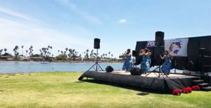 more hula dancers - San Diego Scenic Cycle Tours