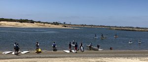 SUP in Mission Bay - San Diego Scenic Cycle Tours