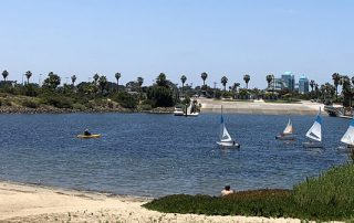 mission bay sailing - Scenic Cycle Tours - San Diego Bike Tours