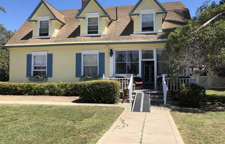 Frank Baum home - San Diego Scenic Cycle Tours