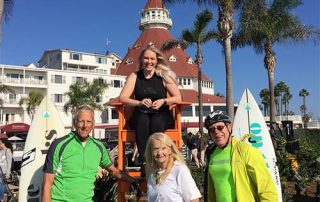 hotel del coronado cyclists - San Diego Scenic Cycle Tours