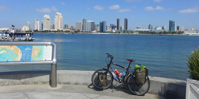 San diego skyline - San Diego Scenic Cycle Tours