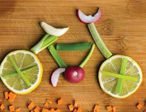 Bike Food Art