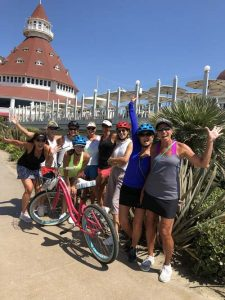 hotel del bike riders - San Diego Scenic Cycle Tours