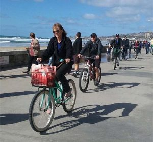 mellow mission beach boardwalk - San Diego Scenic Cycle Tours