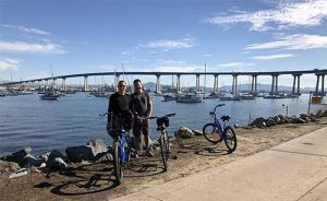 son and father tour - San Diego Scenic Cycle Tours