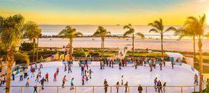 hotel del coronado skating rink - San Diego Scenic Cycle Tours