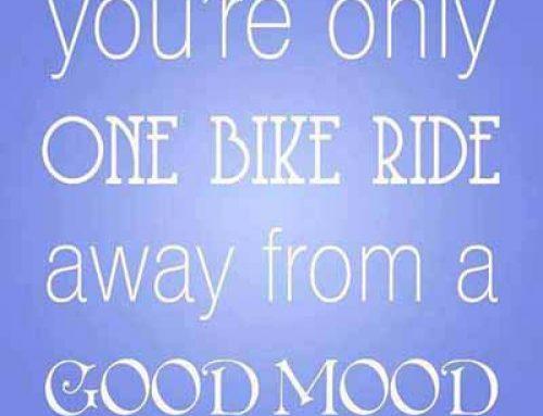More Reasons to Ride a Bike