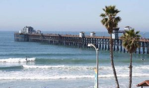 oceanside pier - San Diego Scenic Cycle Tours