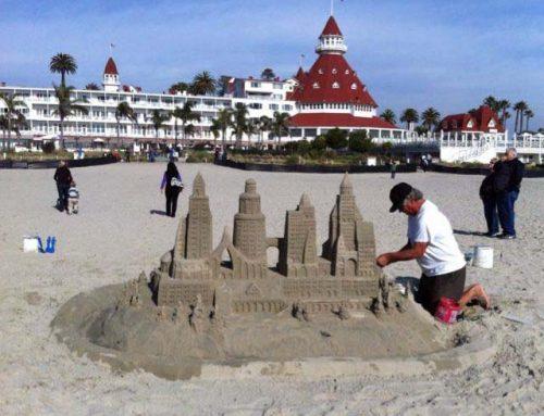 Sandcastle Man