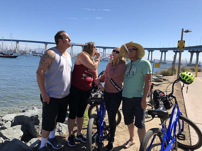 Happy Birthday Shelly - San Diego Scenic Cycle Tours