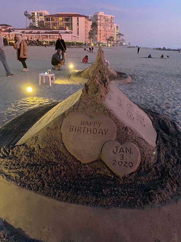 Happy birthday Sandcastle - San Diego Scenic Cycle Tours