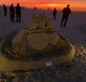 sandcastle sunset - San Diego Scenic Cycle Tours