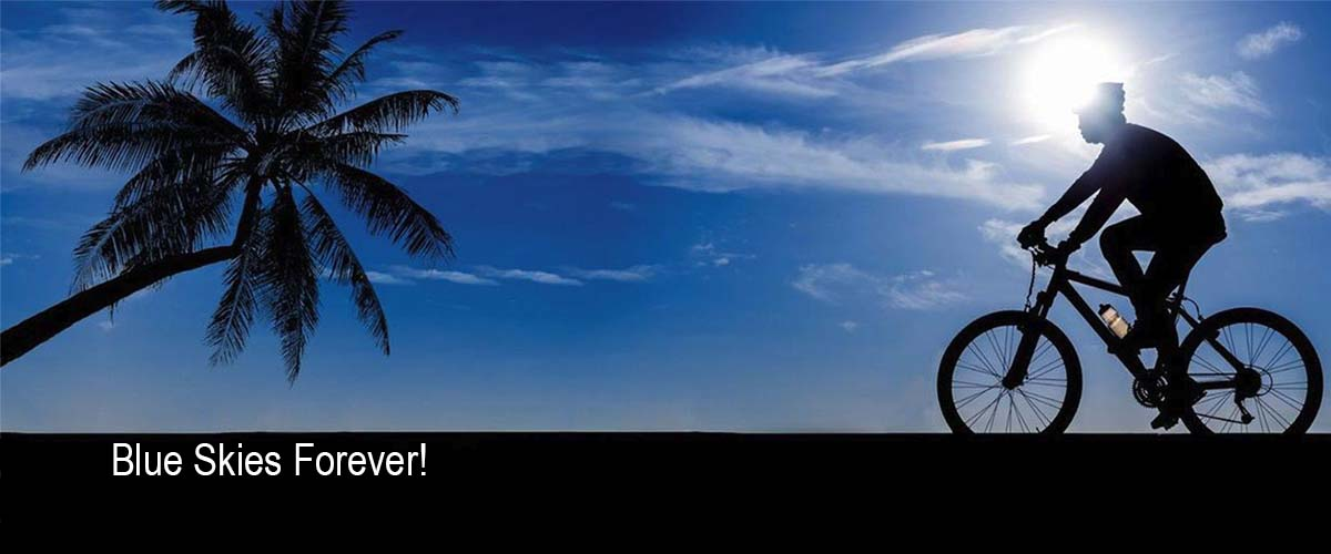 blue skies forever - San Diego Scenic Cycle Tours