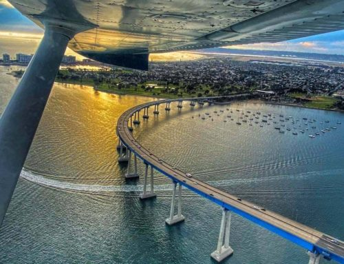 Aerial View Coronado Bridge