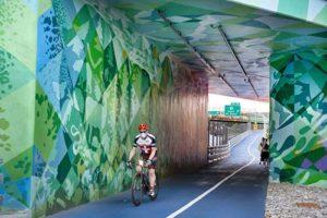 Gov. Mario M. Cuomo Bridge bike path- San Diego Scenic Cycle Tours