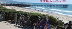 free birthday tour- San Diego Scenic Cycle Tours