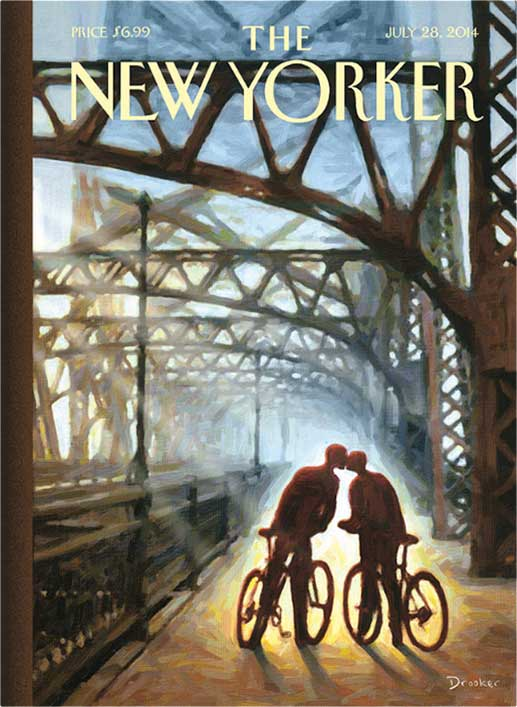 2014 new yorker cover - San Diego Scenic Cycle Tours