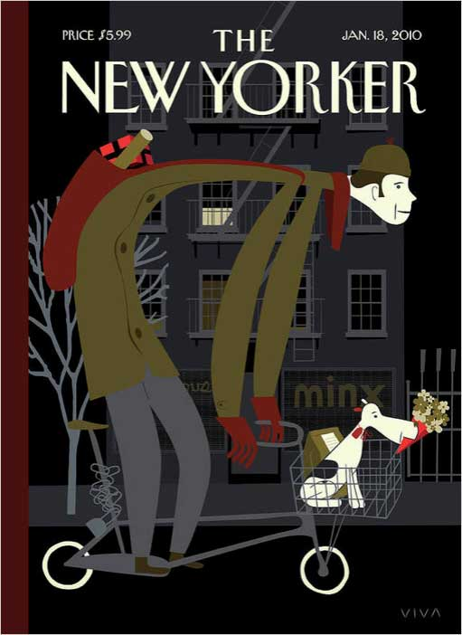 2010 New Yorker Cover - San Diego Scenic Cycle Tours