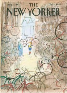 1988 New Yorker Cover- San Diego Scenic Cycle Tours