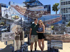 Coronado Tent City - San Diego Scenic Cycle Tours