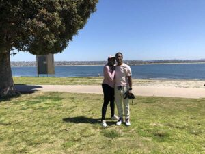 sweet couple - San Diego Scenic Cycle Tours