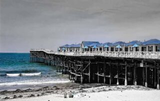 crystal pier - San Diego Scenic Cycle Tours