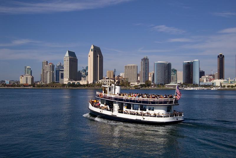 coronado ferry - San Diego Scenic Cycle Tours
