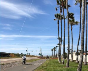 Calm Silver Strand - San Diego Scenic Cycle Tours