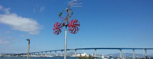 coronado bike art by amos robinson - San Diego Scenic Cycle Tours