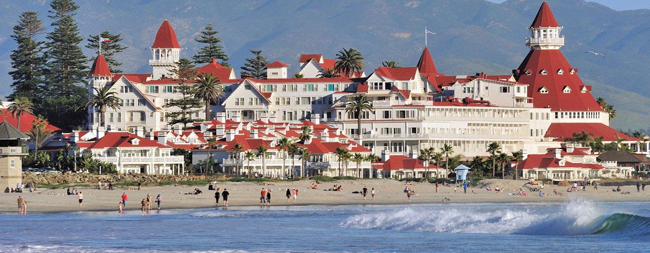 hotel del Coronado - San Diego Scenic Cycle Tours