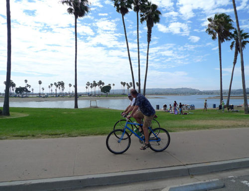 More San Diegans Biking During Pandemic