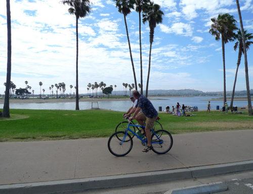 More San Diegans Biking During Pandemic