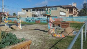 Imperial beach art - San Diego Scenic Cycle Tours