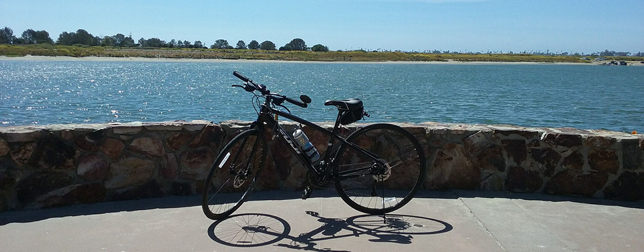 mission bay lookout - San Diego Scenic Cycle Tours